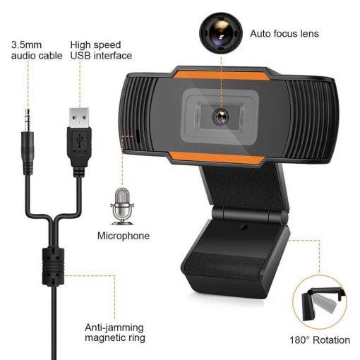 web cam para clases online